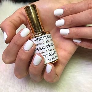 🌼2 for $25🌼DND Gel + Lacquer Duo - White Chalk